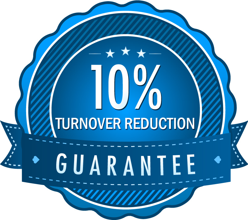 turnover reduction guarantee seal